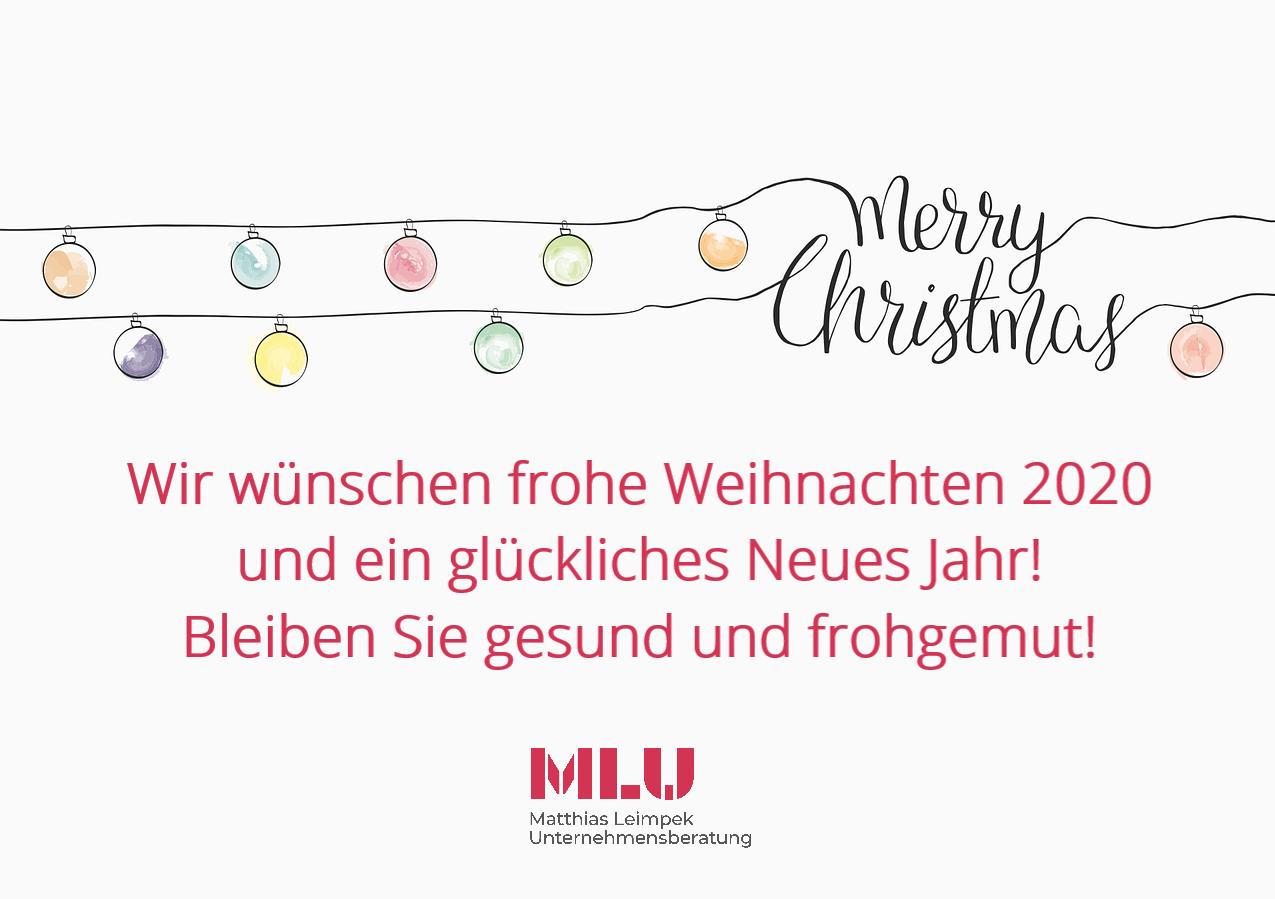 Weihnachtsgruß der MLU